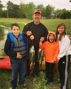 Tristan, Matt, and Matt's family