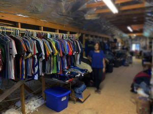 Photo of the Kinloch Boys Thrift store